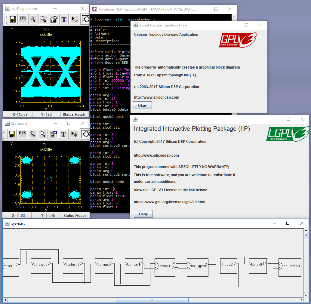 Announcing 64 Bit Capsim Text Mode Kernel